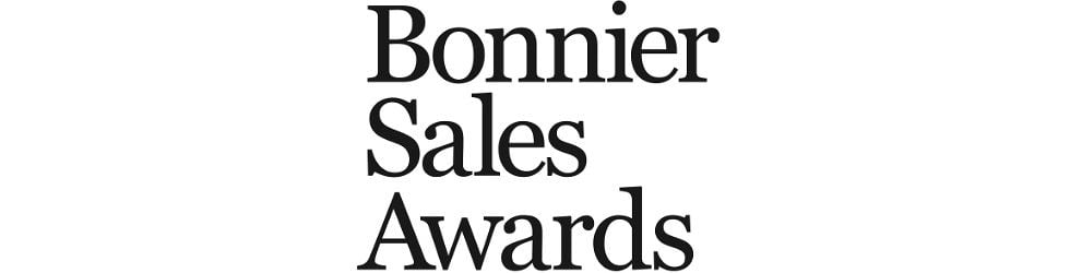 Bonnier Sales Awards