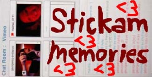 Vimeo Stickam Chat Memories