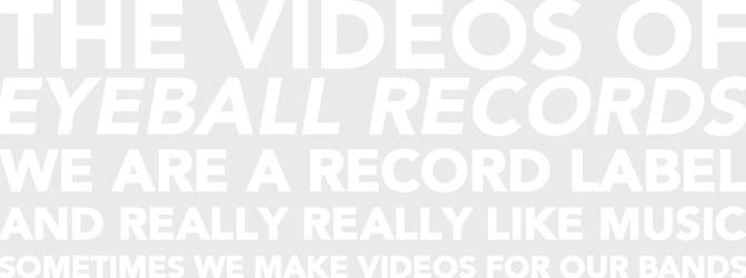 Eyeball Records TV
