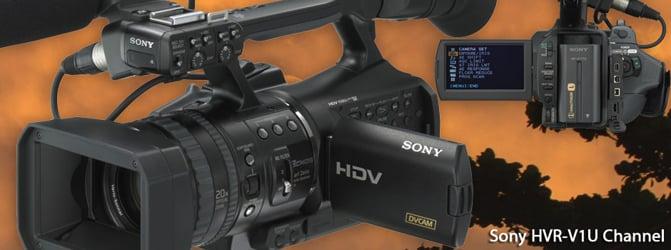Sony HVR-V1U / V1N / V1E Footage