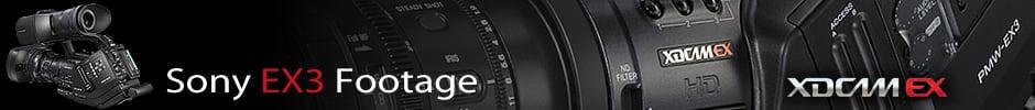 Sony EX3 Footage
