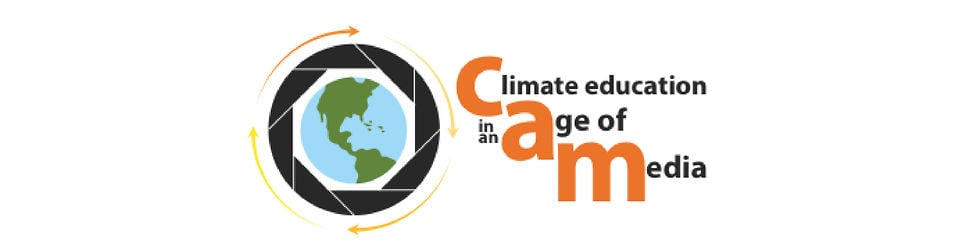 CAM:  Climate education in an Age of Media