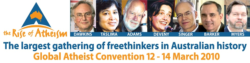 Global Atheist Convention 2010