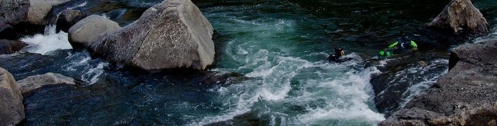 River Snorkeling: Man Meets Fish