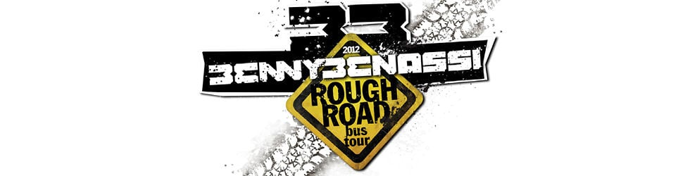 BENNY BENASSI ROUGH ROAD BUS TOUR