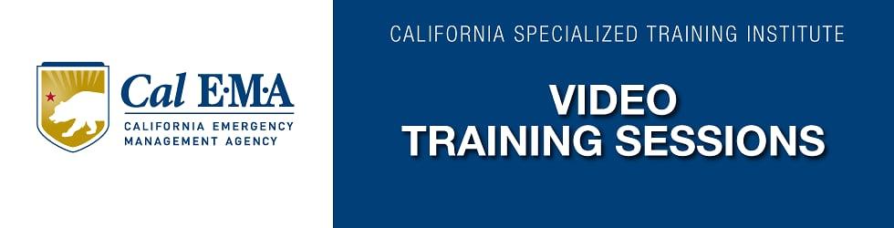 NEW Cal EMA Training Sessions