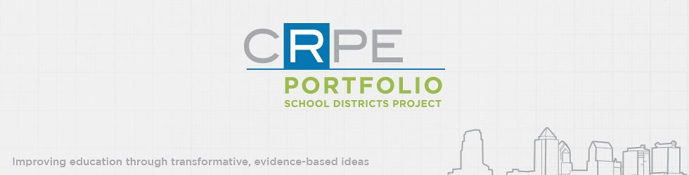 Portfolio School Districts Project