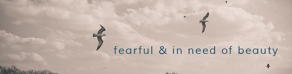 fearful and in need of beauty