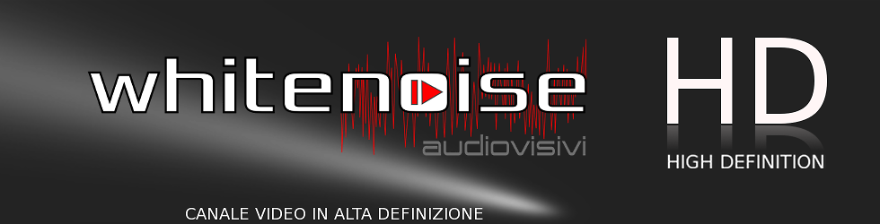 white noise audiovisivi
