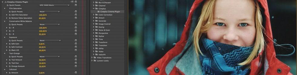 CCP: Cineplus Cinema Plugin for Adobe