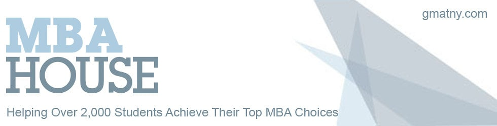 Best GMAT Prep Course - MBA House, New York City