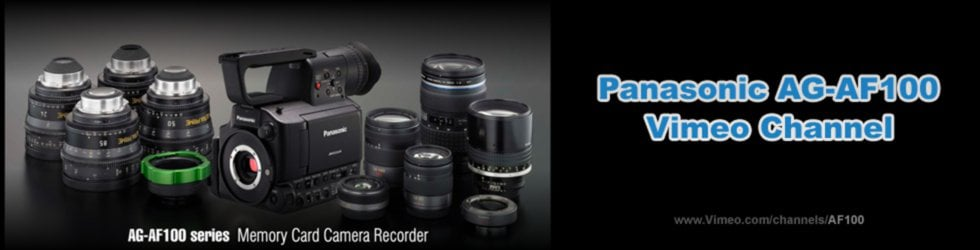 Panasonic AG-AF100 / AF101