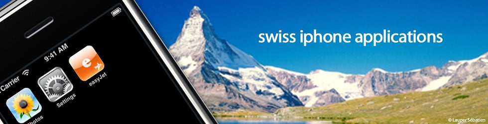 swiss iphone application