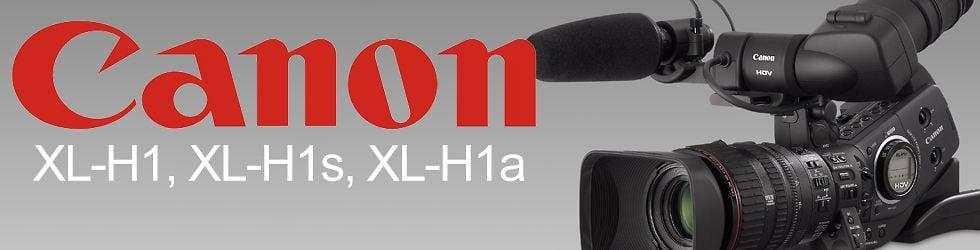 Canon XL-H1  XL-H1-A XL-H1S