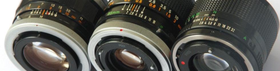 Canon FD & FL lenses