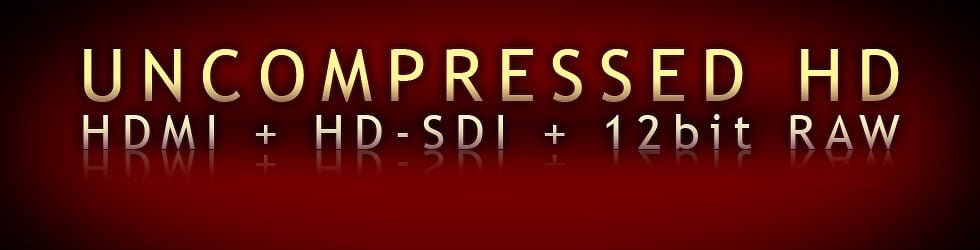 Uncompressed HD & RAW Group: HDMI & HD-SDI & RED RAW