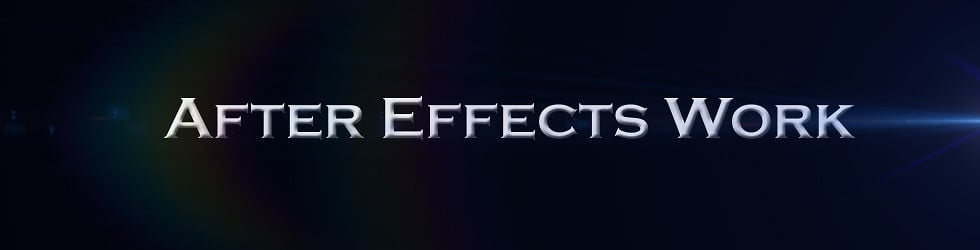 After Effects Work