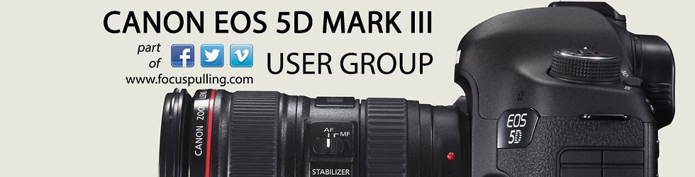 Canon EOS 5D Mark III User Group