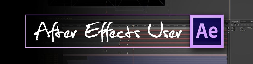 After Effects User