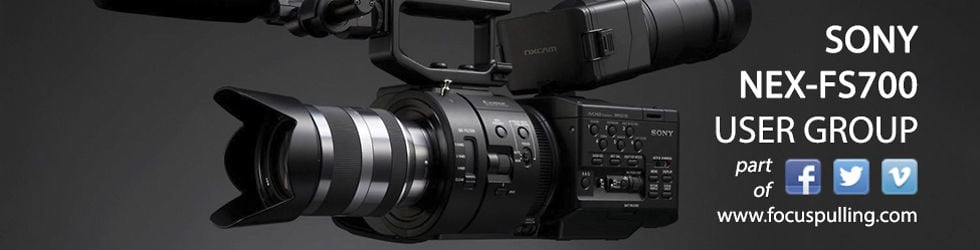 Sony NEX-FS700 User Group