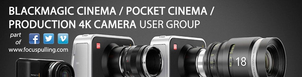 Blackmagic Cinema Camera User Group