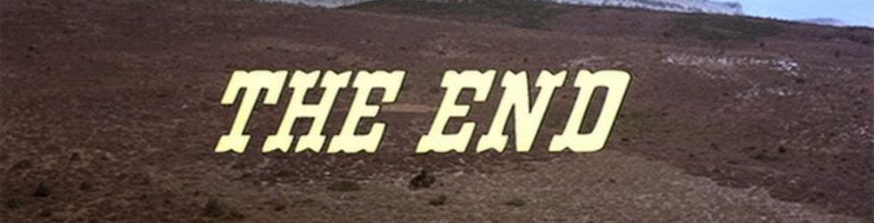 the Good, the Bad, the Title sequence