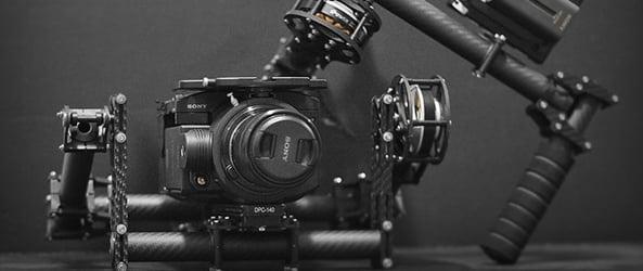Hand held brushless camera stabilzers