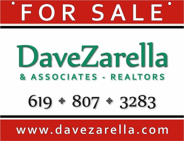 Dave Zarella & Associates Serving San Diego Buyers and Sellers  for 30 years
