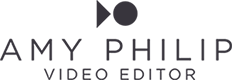 AMY PHILIP // FREELANCE VIDEO EDITOR
