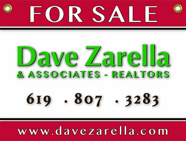 Dave Zarella & Associates Serving San Diego Buyers and Sellers  for 33 years!