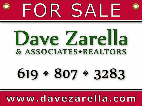 Dave Zarella & Associates Serving San Diego Buyers and Sellers  for 35 years!
