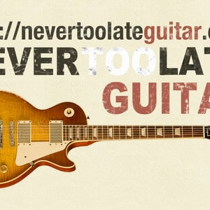 Profile picture for Never Too Late Guitar