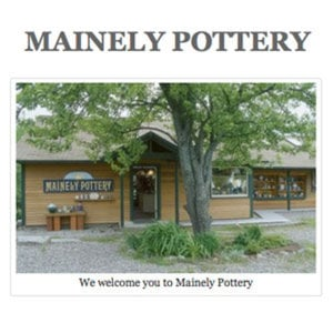 Profile picture for mainely pottery