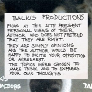Profile picture for BALKIS PRODUCTIONS