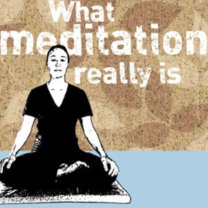 Profile picture for WhatMeditationReallyIs