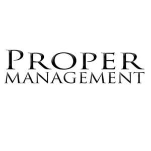 Profile picture for Proper Management
