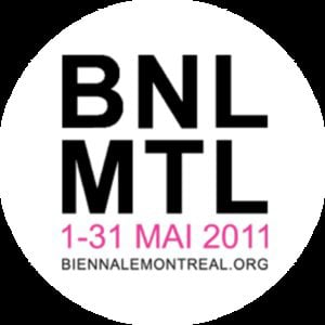 Profile picture for Biennale de Montréal 2011