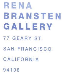 Profile picture for Rena Bransten Gallery