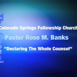 Profile picture for Colorado Springs Fellowship