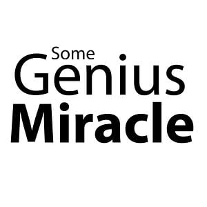 Profile picture for Some Genius Miracle