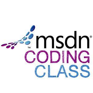 Profile picture for MSDN Coding Class (Microsoft)