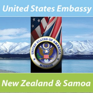 Profile picture for USEmbassy NZ