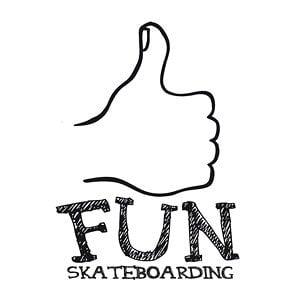 Profile picture for fun skateboarding