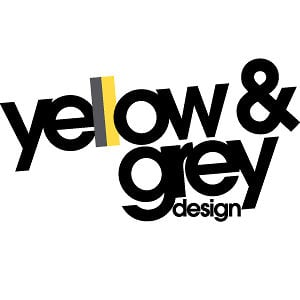 Profile picture for yellow & grey design