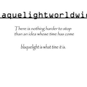 Profile picture for blaquelightworldwide