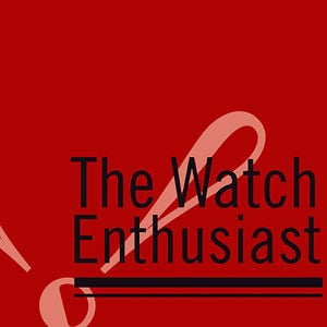 Profile picture for The Watch Enthusiast
