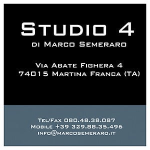 Profile picture for Studio 4 di Marco Semeraro