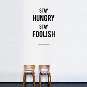 Profile picture for STAY HUNGRY STAY FOOLISH