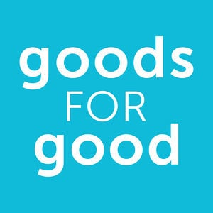 Profile picture for goods for good