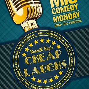 Profile picture for Cheap Laughs Open Mic